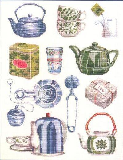 Чайники сэмплер, чайник, чашка