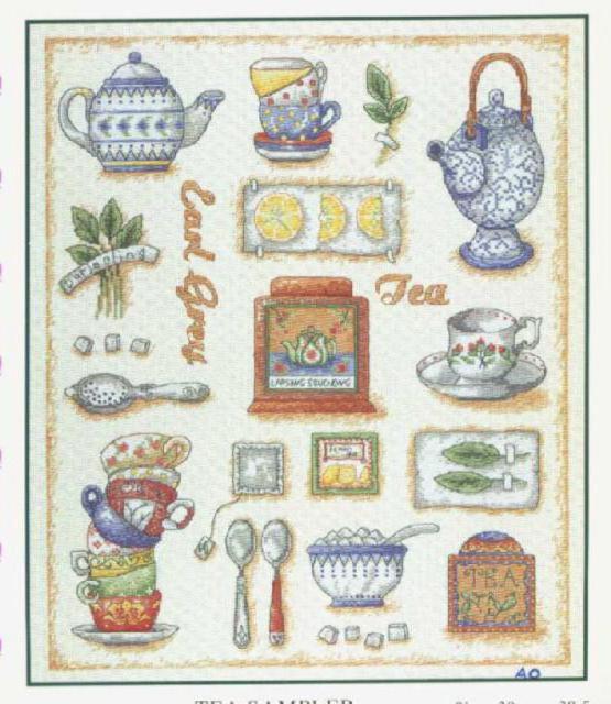 Время чая сэмплер, оригинал