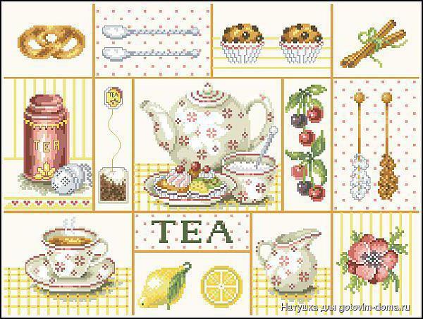 Чай сэмплер, оригинал