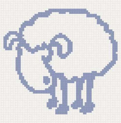 Овца контур, предпросмотр