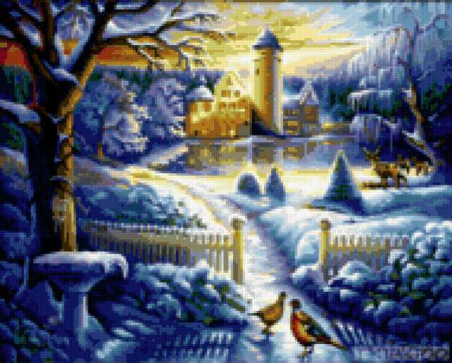 Зимний замок, предпросмотр
