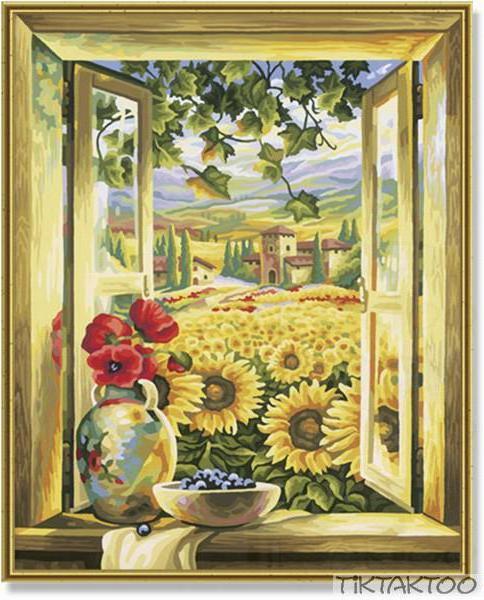 Окно в лето, оригинал