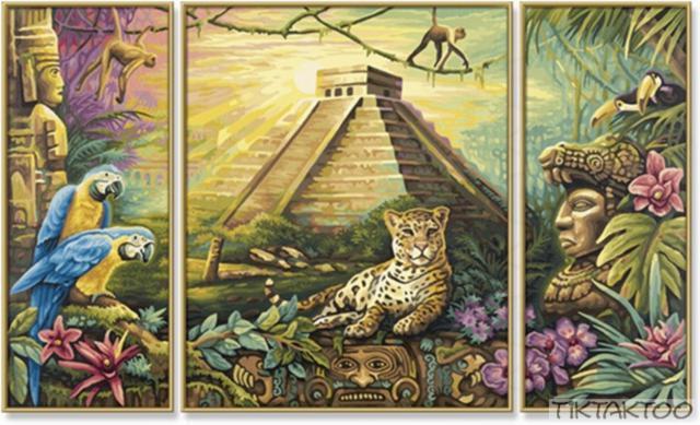 Пирамида майя, оригинал