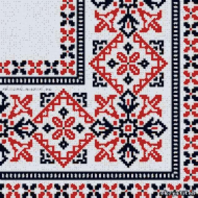 Украинская салфетка
