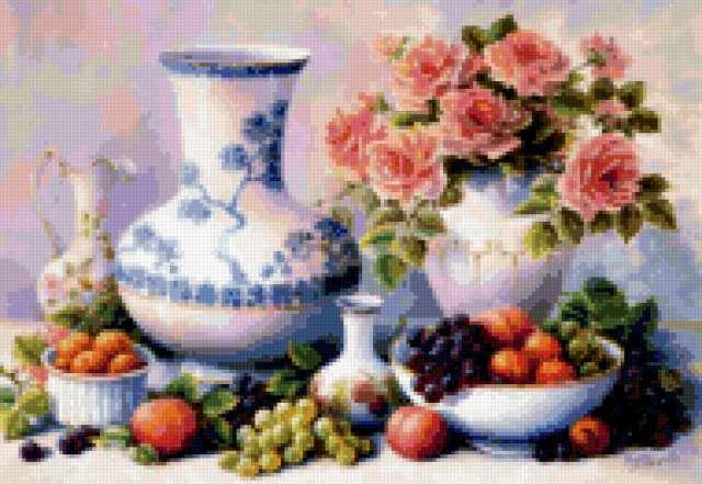 Китайские вазы, предпросмотр