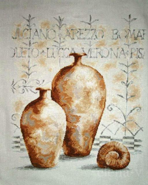Кувшины фреска, оригинал