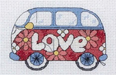 любовь, ромашки, транспорт