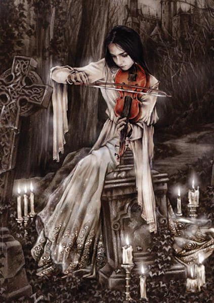 Готика, готика, кладбище