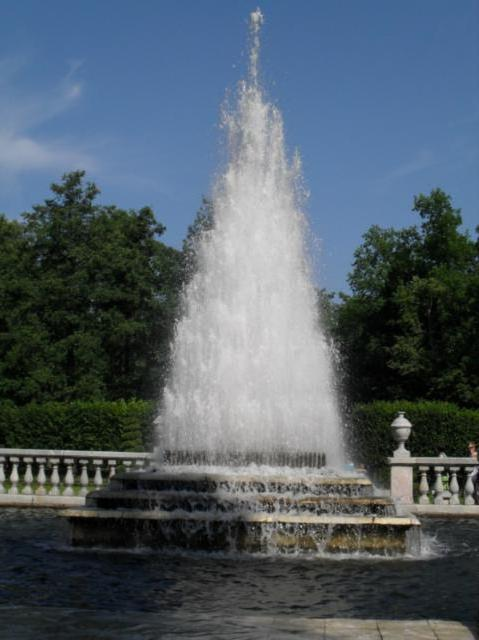 питер, петергоф, фонтан