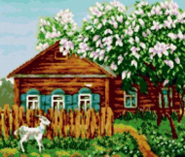 Домик в деревне, предпросмотр