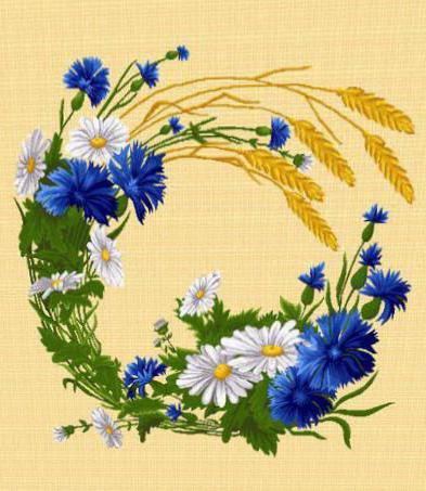 Полевой венок 2, цветы,