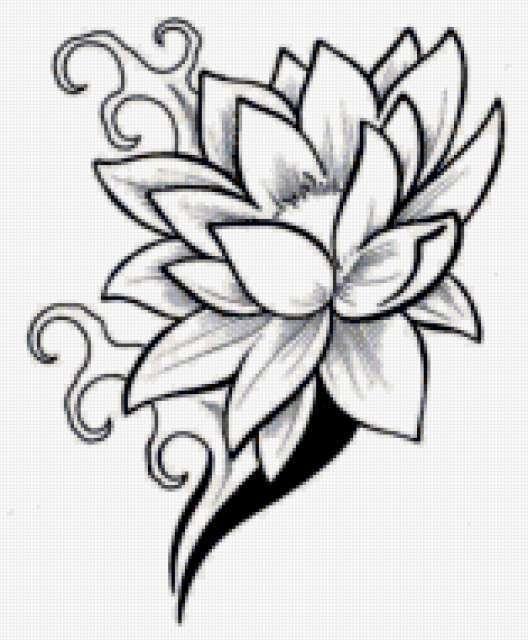 Тату лилий 268 лучших фото татуировок 2018 года - KissMyTattoo