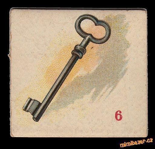Ретро-ключ, оригинал