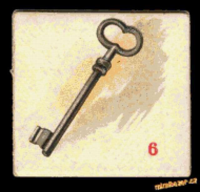 Ретро-ключ, предпросмотр