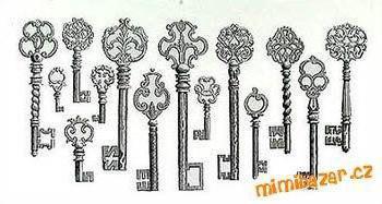 Схема крестиком ключи
