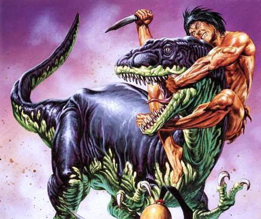 Укрощение динозавра, фентези