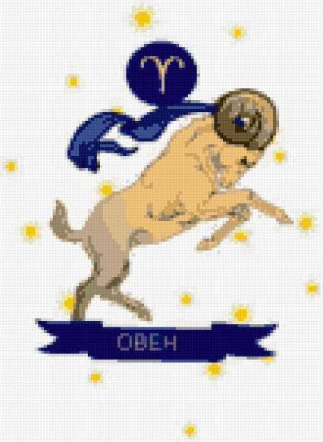 Знаки зодиака-овен