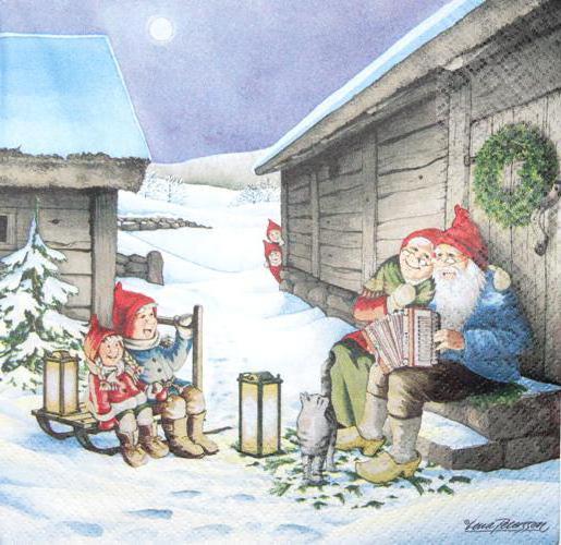 Гномы.Рождество, оригинал