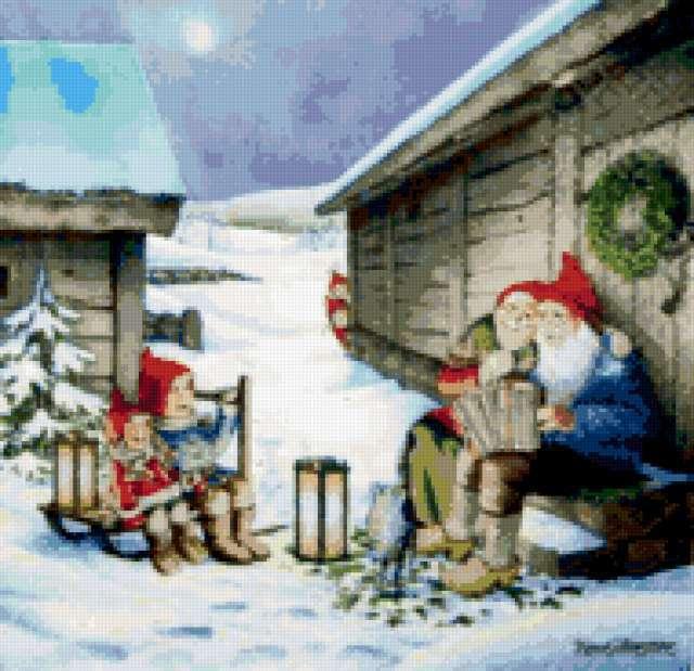 Гномы.Рождество, предпросмотр