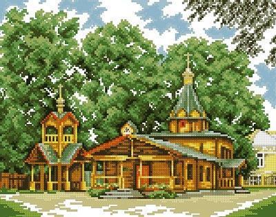 Деревянная церковь,