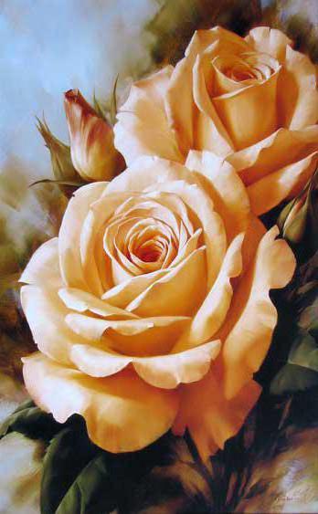 Вертикальные розы, оригинал