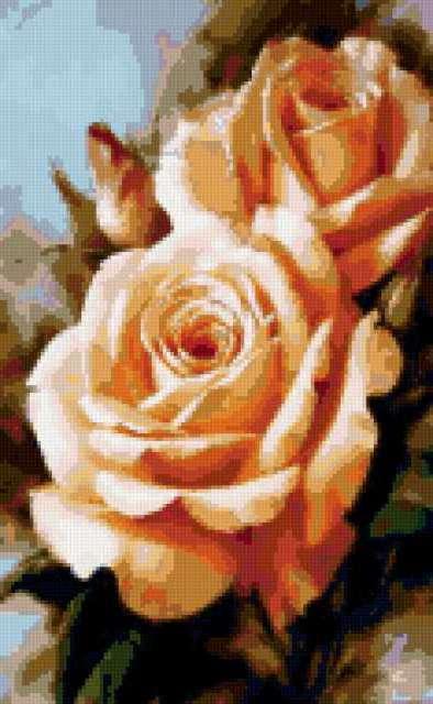 Вертикальные розы