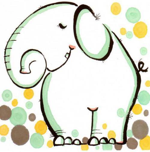 Забавный слоник, слоник, слоны