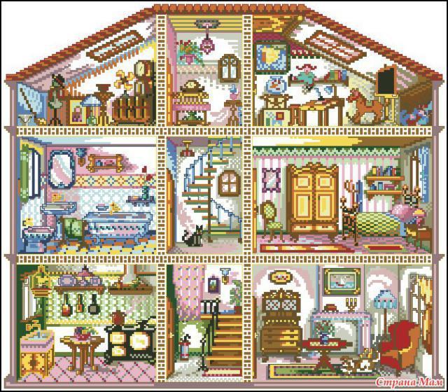 Кукольный домик, оригинал
