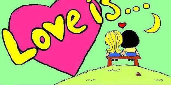 картинки мультяшки про любовь: