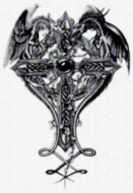 Кельтский крест, предпросмотр