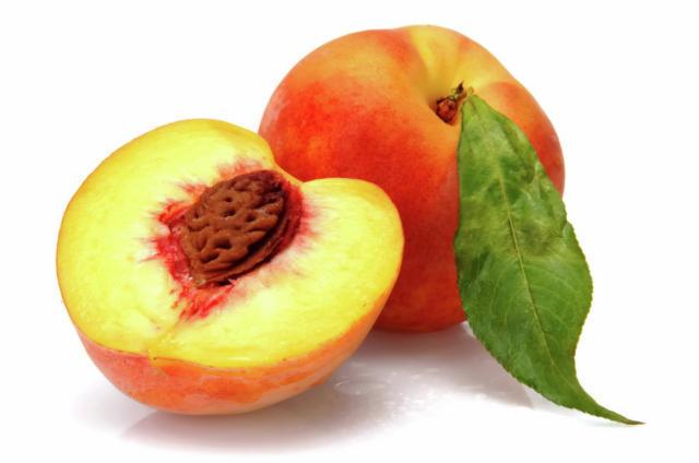 Персики, фрукты