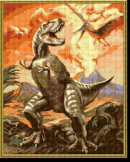 Динозавры, предпросмотр