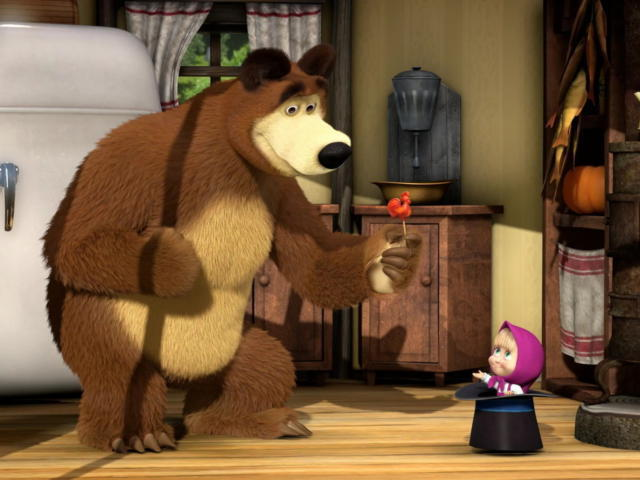Маша И Медведь, оригинал