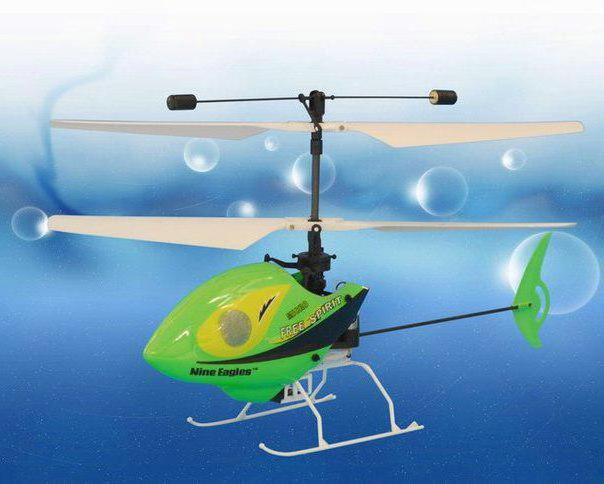 Вертолёт зелёный, оригинал