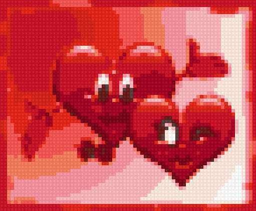 Два сердца, сердце.сердечко.