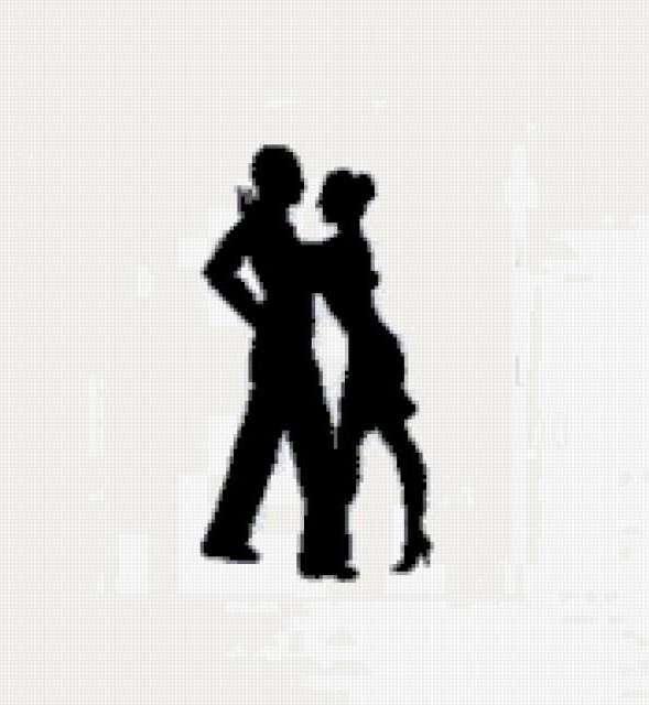Танцующая пара 2,