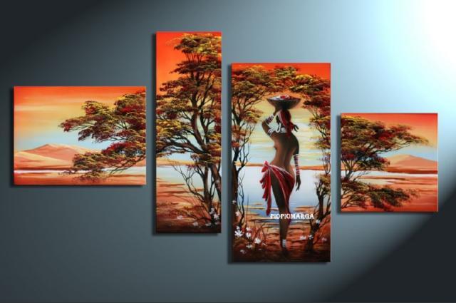Триптих Африка, оригинал