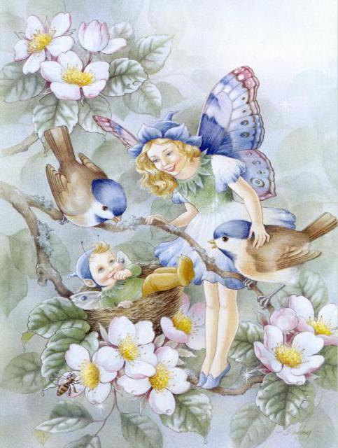 фото цветочная фея