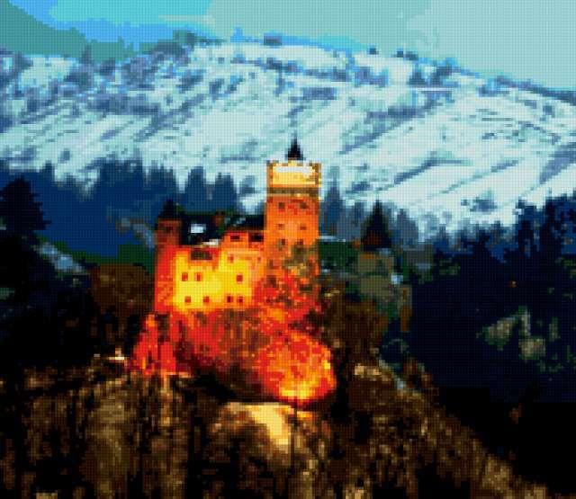 Замок Бран (замок Дракулы),