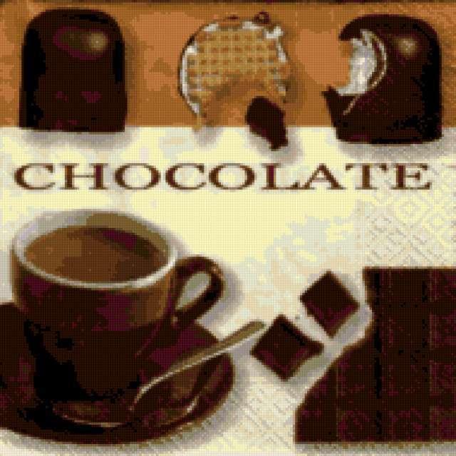 шоколад, предпросмотр