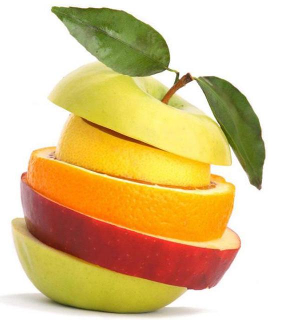 Нарезка фруктов, фрукты