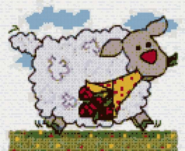 Овечка, овечка, год овцы,