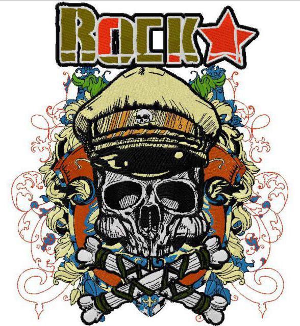 Рок, череп