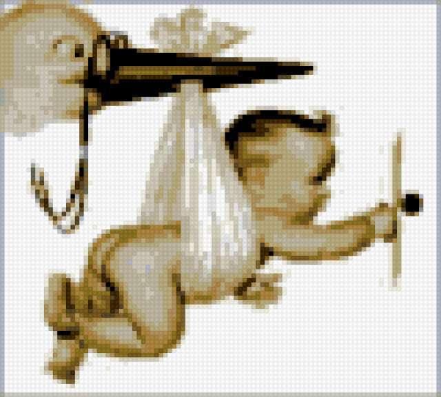 Аист, принесший ребенка