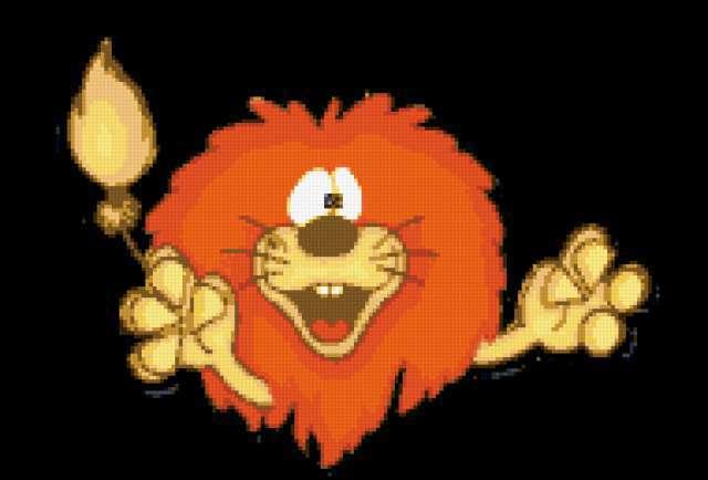 Знакки зодиака-лев