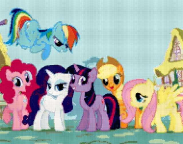 Маленькие пони, предпросмотр