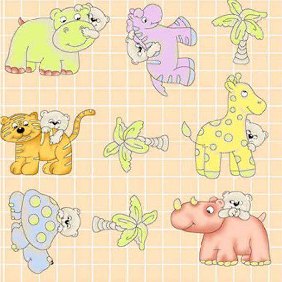 Мини-вышивки для детей,