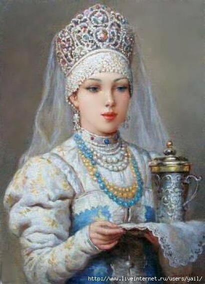 Русская красавица, русская