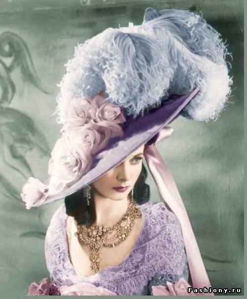 Дама в шляпе., оригинал