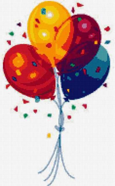 Воздушные шары, предпросмотр
